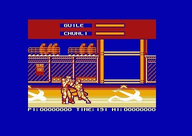 STREET FIGHTER 2 - AMSTRAD CPC () rom download | WoWroms com